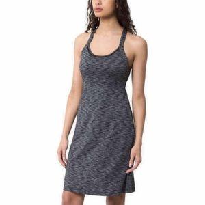 MPG Mondetta Sport Travel Dress, S Black Gray